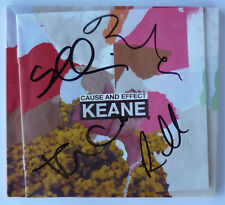 KEANE Cause and Effect - HAND SIGNED / AUTOGRAPHED limited deluxe CD -MINT (2/3)