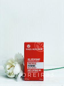 YVES ROCHER Energie Homme Anti-Fatigue Gel for skin 50 ml 62470 boyfriend LAST!!