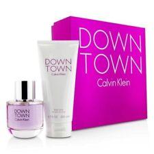 CALVIN KLEIN DOWNTOWN Gift Set: 3.0oz EDP Spray + 6.7oz Body Lotion NEW IN BOX