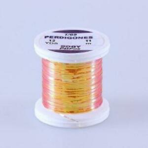 Hends Perdigones Pearl Body Tinsel | 2 Sizes  | Choice of Colour, Fly Tying