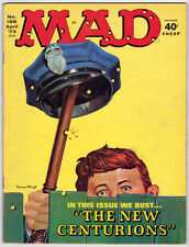 MAD magazine -- #158 -- April 1973 --- The New Centurions cover__Mad mag