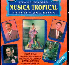 Los Grandes De La Musica Tropical Vol 1   4 Reyes y 1 Reina  BRAND NEW SEALED CD