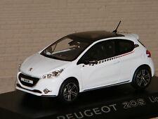 PEUGEOT 208 LIGNE S 2012 WHITE NOREV 1/43 Ref 472802