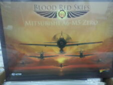 BLOOD RED SKIES JAPANESE MITSUBISHI A6-M5 ZERO SQUADRON - NEW AND SEALED