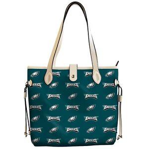 Philadelphia Eagles Patterned Tote Bag Handbag