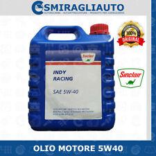 OLIO MOTORE AUTO SINCLAIR RACING 5W40 BENZINA DIESEL GASOLIO GPL METANO 4 LITRI