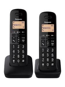 Panasonic KX-TGB612EB Cordless Telephone - Black  Double (1453751)