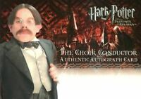 Harry Potter Prisoner of Azkaban Update Warwick Davis Unsigned Autograph Card
