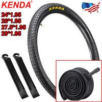 KENDA 24/26/27.5/29*1.95 MTB Bike Tire Durable Clincher Non-Slip Tyre Inner Tube