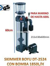 Protein skimmer Boyu Dt-2524 1850l/h separador urea acuario marino hasta 600l