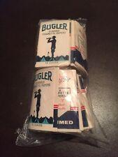 Vintage Bugler Gummed Cigarette Papers 40-50 Packages Sealed Package
