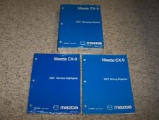 2007 mazda cx 9 service manual 2007 mazda cx 9 workshop shop service repair manual set wiring diagrams book
