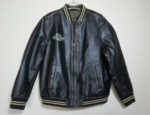 Harley Davidson Vintage Leather Jacket Excellent Condition Size 44/46  Lg/Xlg
