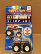 VTG Hot Wheels Bigfoot Champions TOWER TIRES-Monster Truck 1991 MOC / NIP Sealed