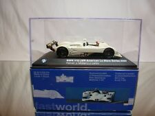 MINICHAMPS BMW V12 LMR AMERICAN LE MANS 2000 - LEHTO MÜLLER - 1:43 - GOOD IN BOX