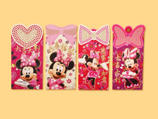 2020 Chinese New Year Red Envelope Creative Disney Minnie Series III - 12 pcs FS