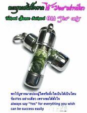 Takrud Sanae Jaikard Wax Talisman Thai Amulet Charm Money Wealth Love Arjarn O