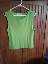 Casual Corner Annex - Tank Top - lime green Size Medium - Nice Quality Cami