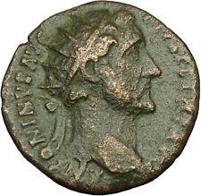 Antoninus Pius Marcus Aurelius Father Big Ancient Roman Coin Equity Cult i39863