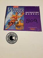 Legendary wings - nintendo nes - notice