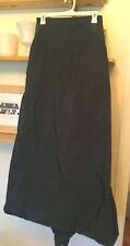 TEVROW CHASE EUC Gray Maxi Skirt w/Bustle Back - Size 6