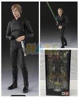 """Star Wars Luke Skywalker Anakin Jedi Knight 6"""" Black Action Figure Model Toy"""