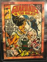 Defalco & Valentino Dual Auto Cover #28 Comic 2014 GUARDIANS OF THE GALAXY B14