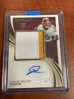 2020 Panini Immaculate Chase Young Rookie 3 color Patch Auto /75 RC RPA 🔥