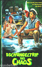 VHS -- Dschungeltrip ins CHAOS - (1987) - Tony Lo Bianco - Sally Kellerman - IHV