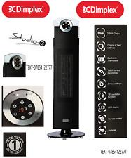 Dimplex 2.5 Kw Studio G Calentador de Ventilador de torre giratoria de cerámica resistente Potente