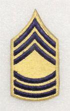 "Army Rank Chevron: Master Sergeant - Korean War, 2"" Combat Arms, single"