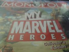 'THE MY MARVEL HEROES COLLECTORS EDITION' MONOPOLY GAME! NEVER OPENED!