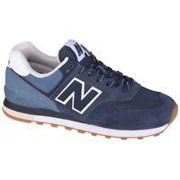 Chaussures New Balance U ML574GRE blanc marine bleu