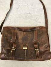 Roots Canada Genuine leather Bag Briefcase $300 Used