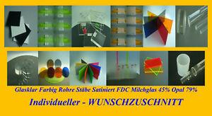 PLEXIGLAS® Muster Acrylglas Klar Schutz Zuschnitt Farbig Bunt Test Platte