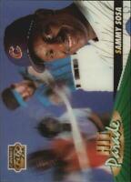 1996 Sportflix Hit Parade #9 Sammy Sosa - NM-MT