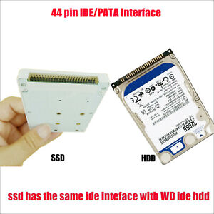 512 GB 256 GB 128 GB 64 GB IDE 44-Pin SSD-Laufwerksdiskette für IBM T40 T41