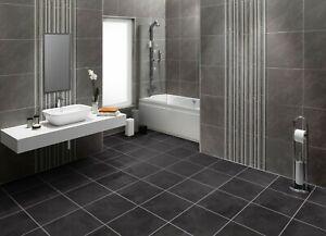 Vitesse Black Slate LVT Luxury Vinyl Flooring 2.088m2 *Clearance £7.20 per m2*