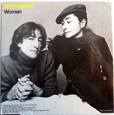 "John Lennon - Woman - USA - 7"" Single - Rare Small Center Hole - 1980 - NEW"