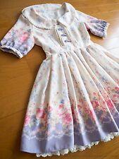 LIZ LISA x My Melody 4th Collab RARE Floral OP Dress Hime Lolita Kawaii Japan