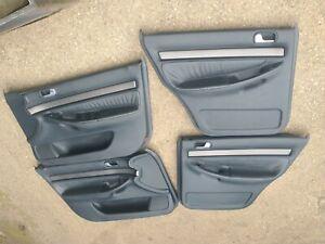 AUDI A4 B5 BLACK LEATHER DOOR CARDS
