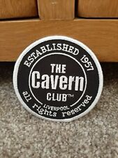 The Cavern Club Liverpool Sew On Patch