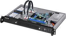 "1U(250W) (Short D:11.8"") (4x2.5""HD) (Rackmount Chassis) (Micro-ATX/ITX) Case NEW"