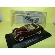 MERCEDES 300 SC ROADSTER 1956 Bordeaux ALTAYA 1:43