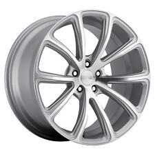 MRR HR10 19x8.5 5x114.3 Silver Wheels Rims (Set of 4)