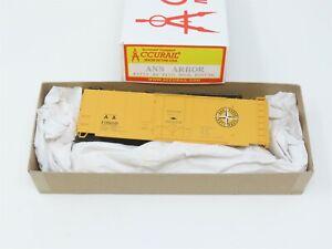 HO Scale Accurail #3129 AA Ann Arbor 40' Plug Door Box Car #19660 Kit