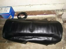 SUZUKI GS 550 GS 750  Black seat cover 76-80 S138