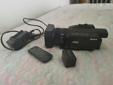 Sony FDR-AX700 4K HDR Camcorder - Black