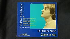 STOCKHAUSEN MARKUS - CLOSE TO YOU IN DEINER NAHE. CD DIGIPACK EDITION