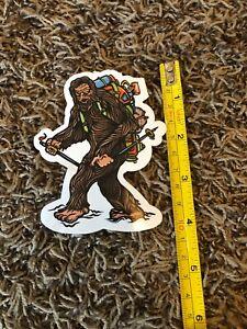 "Wild Tribute Bigfoot Hiking Big Foot Sticker decal Approx 4"" Backpack Climb Hike"